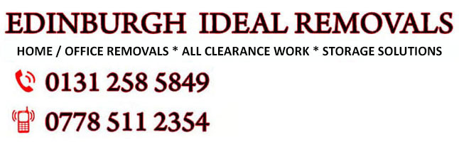 Edinburgh Ideal Removals |